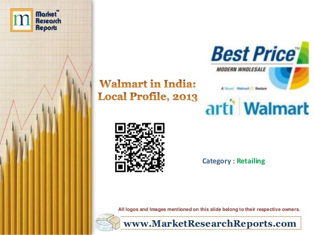 www.MarketResearchReports.com Category : Retailing All logos and Images mentioned on this slide belong to their respective...