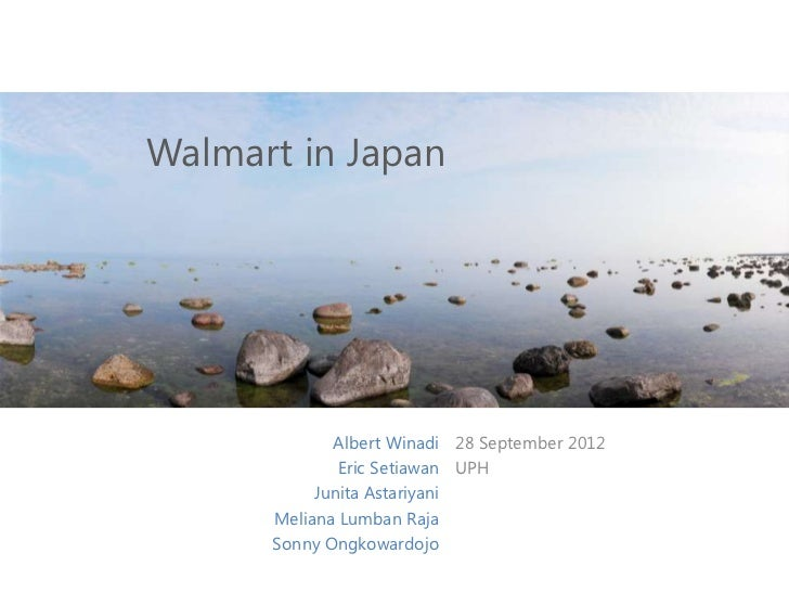 walmart in japan case study analysis Case study: walmart environmental sustainability walmart's environment sustainability progress  walmart had faced severe backlash from its consumers, ngos and environmental critics due to their unsustainable environmental practices and non-committal attitude and policies towards the environment up until mid-1990's.