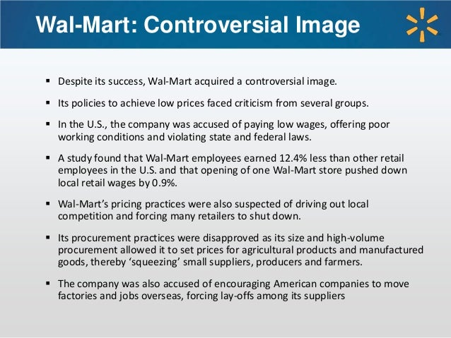 the benefits of wal mart that outweigh its negative business practices Artificial intelligence: do the benefits outweigh the risks but business is the bottom line  practice areas about us news contact.