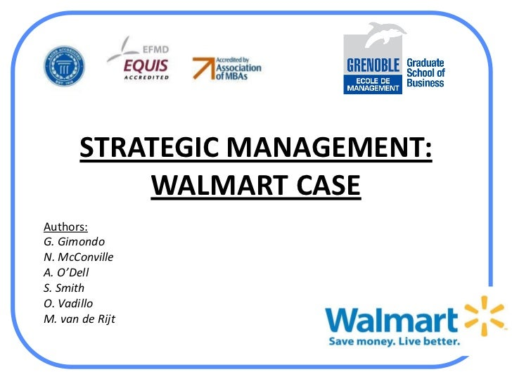 Wal-Mart Analysis (Strategic Management)