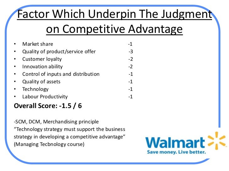 wal mart operations management analysis Stakeholder analysis of wal-mart in determining the public affairs strategy of wal-mart effective operations management.