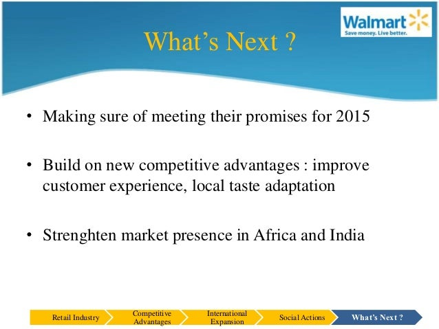 wal mart's strategic competitive success Walmart inc (wal-mart stores) corporate mission and vision statements, porter's generic strategy, ansoff's intensive growth strategies, retail business case study analysis.