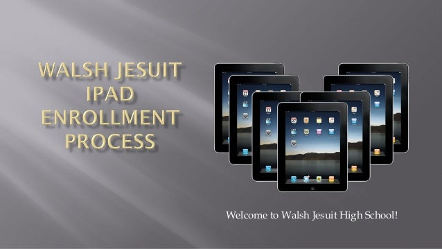 Welcome to Walsh Jesuit High School!