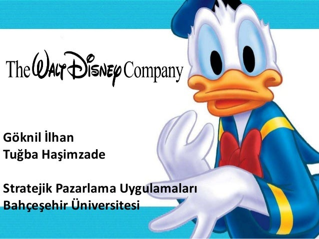 Walt Disney Company - The Entertainment King