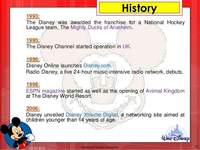 Disney organizational structure