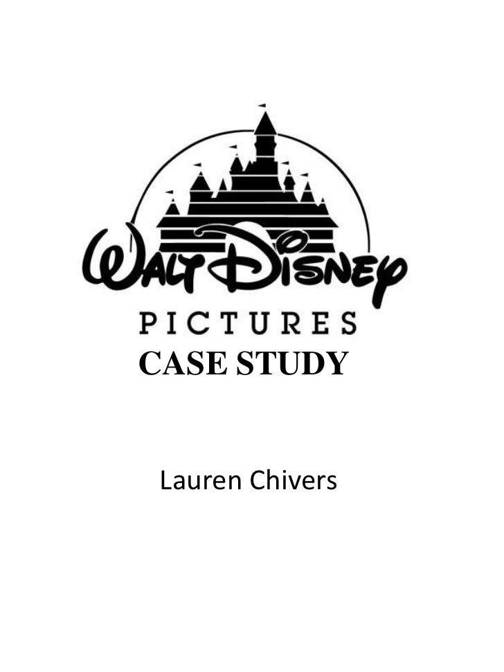 Walt disney pictures case study