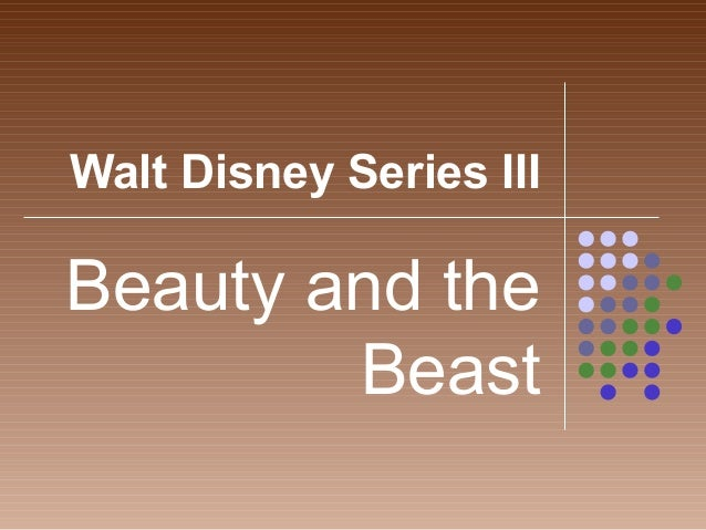 Walt Disney Series IIIBeauty and theBeast