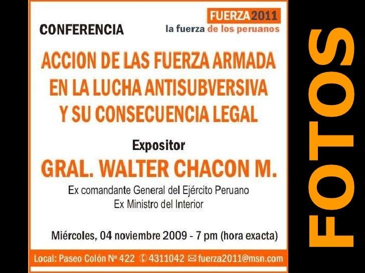 Gral. Walter Chacón Málaga