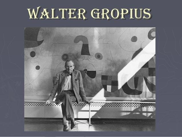 Architect Walter Groupius