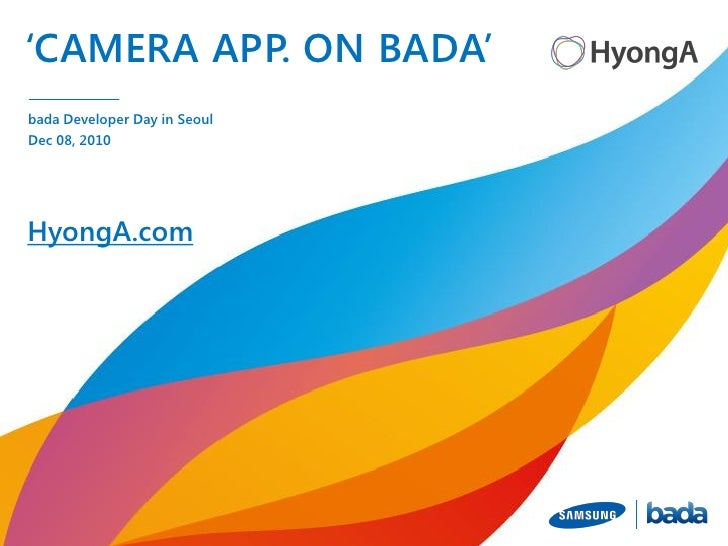 WAMO Camera Presentation for samsung bada - HyongA