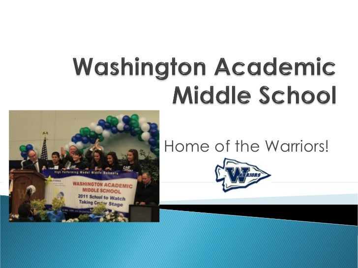 Home of the Warriors!