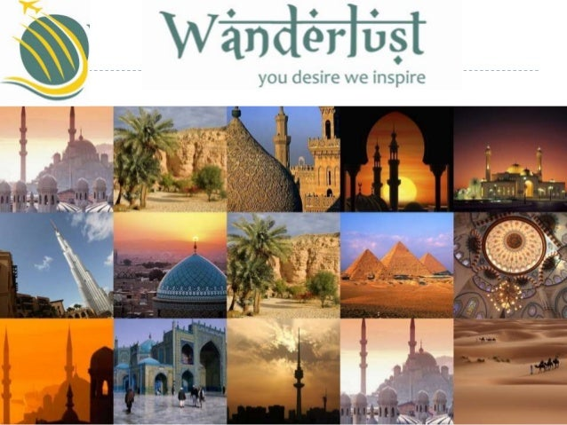 Company overview Wanderlust Tours intends to provide individual and grouptravel to leisure & pilgrim clients. Services a...