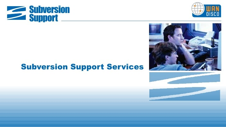 WANdisco Subversion Support Services