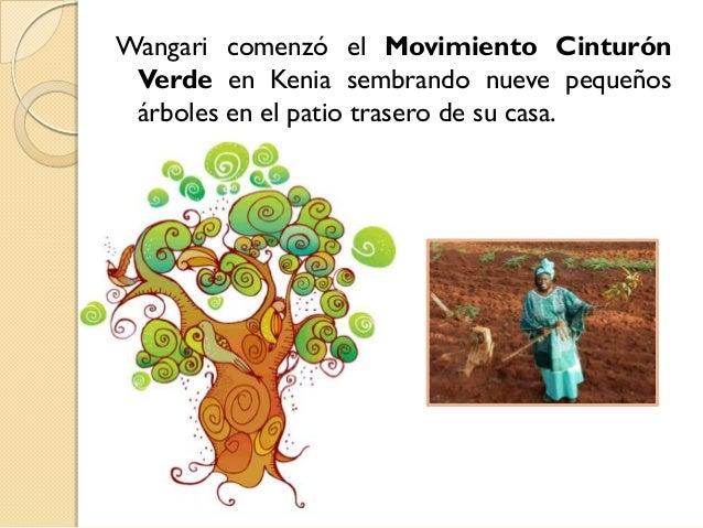 Resultado de imagen de wangari y los árboles de la paz