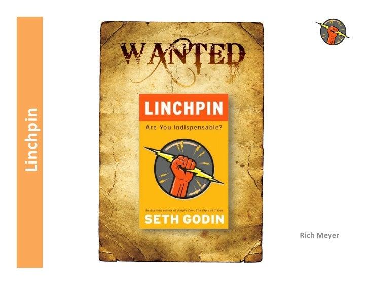 Wanted Marketing Linchpins