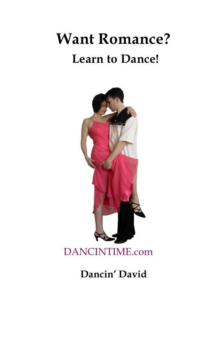 Ballroom Dance Lesson Book Want Romance Learn to Dance