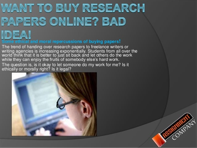 I want to buy a research paper