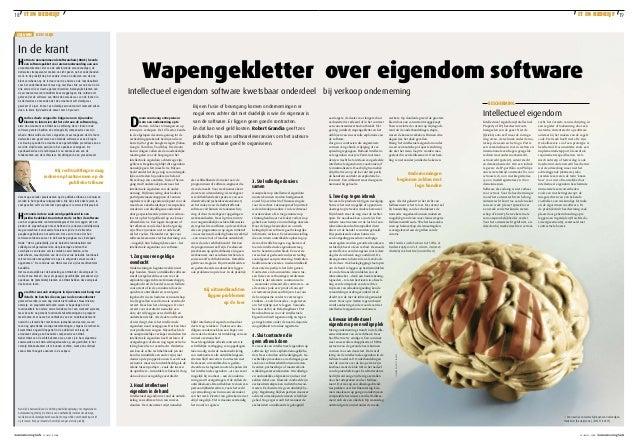 18 it in bedrijf column  TechNologie  marktmonitor  IT IN BEDRIJF  it in bedrijf 19  peopleware  ben slijk  In de krant H ...