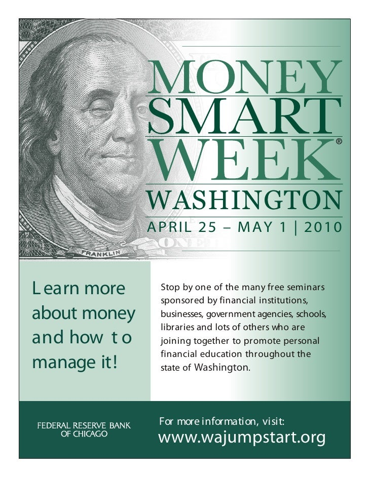 WASHINGTON               APRIL 25 – MAY 1 | 2010    L earn more    Stop by one of the many free seminars                sp...