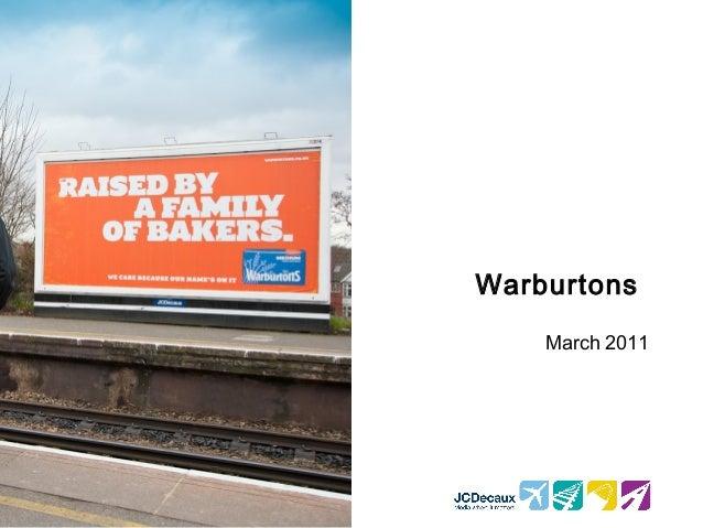 Warburtons March 2011