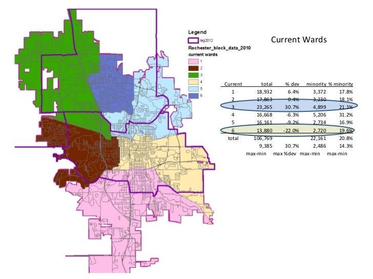 Current Wards Current           total       % dev  minority  % minority    1           18,932       ...