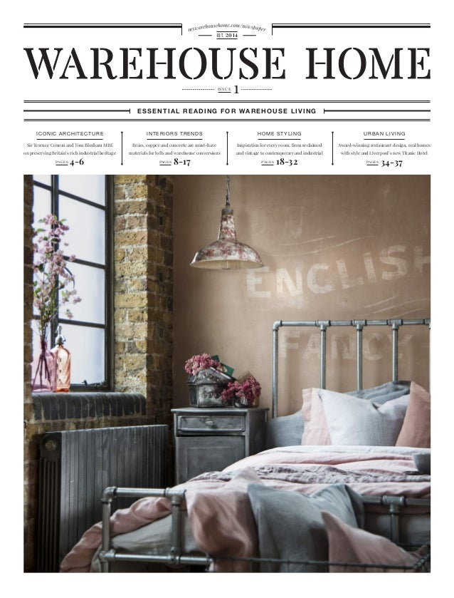 Warehouse Home Architecture Interior Design Decor Magazine