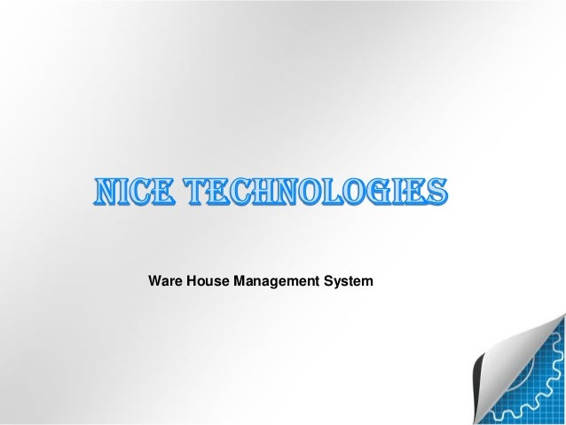 Ware House Management System