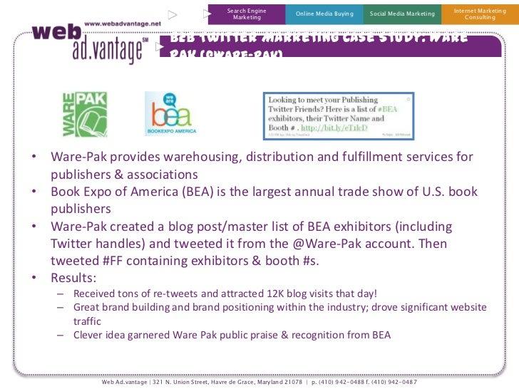 B2B Twitter Marketing Case Study - Warepak
