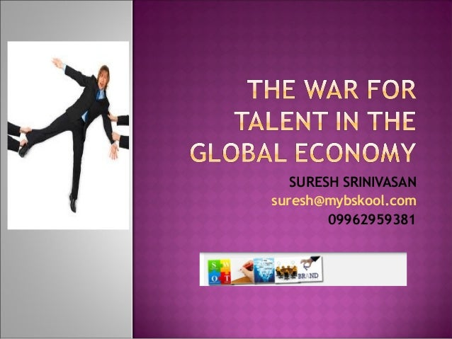 War for talent  myBskool live class ppt - 27 nov 13 | Online Mini MBA (Free)