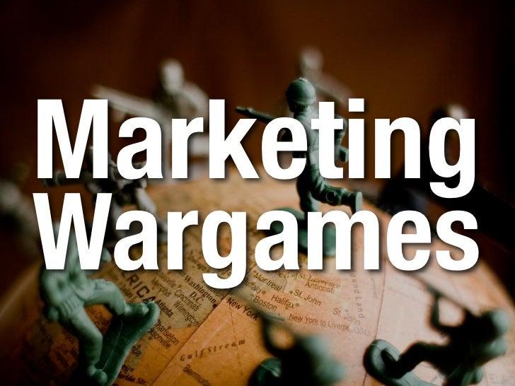 Marketing Wargames
