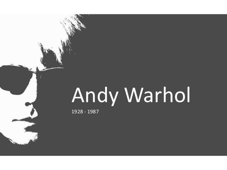 Andy Warhol<br />1928 - 1987<br />