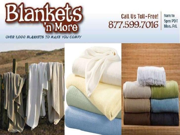 Warm bamboo blankets
