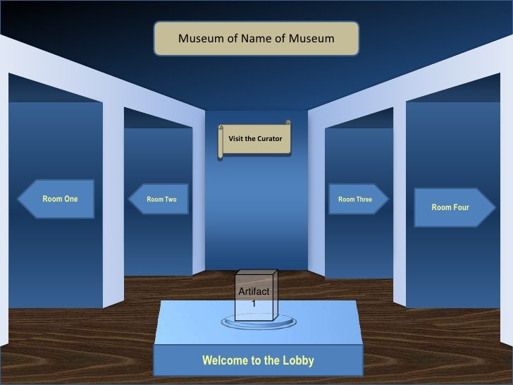 Museum of Name of Museum                                         Visit the CuratorRoom One   Room Two                     ...