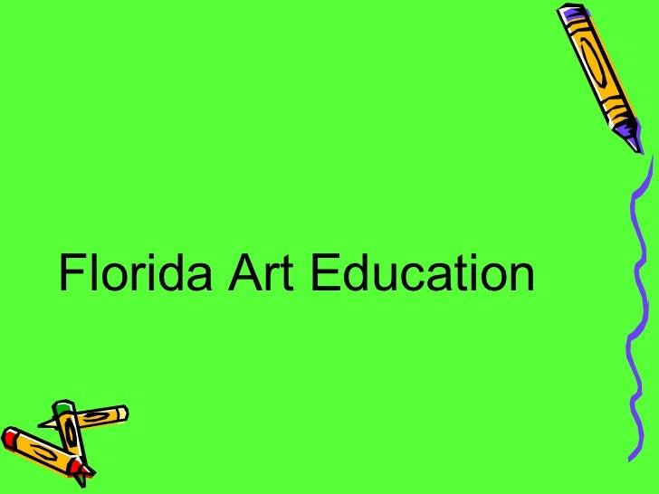 Warner Presentation On Art Ed