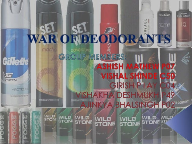  The deodorants market in India increased at a compound annual growth rate of 26.2% between 2004 and 2009.  The body spr...