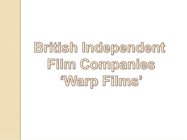 British Independent Film Companies - Warp Films