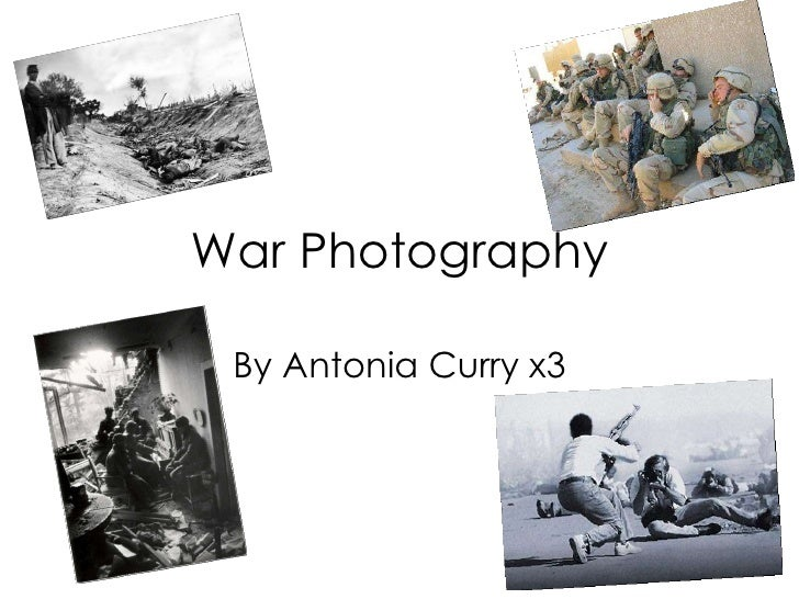 War Photography By Antonia Curry x3