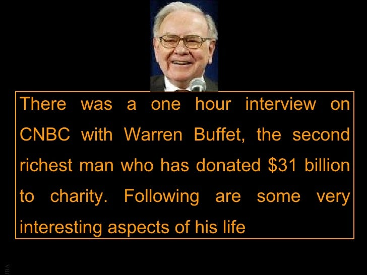 Warren Buffet - What we can learn from him?