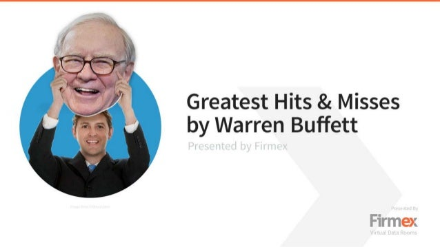 Greatest Hits & Misses by Warren Buffett