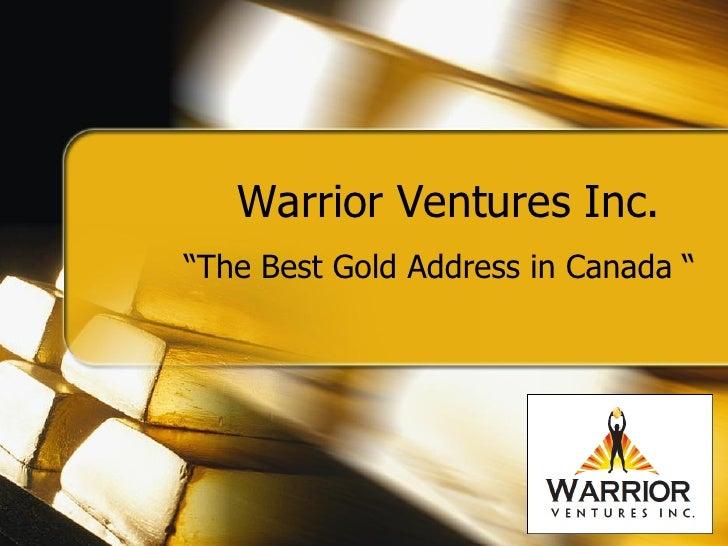 Warrior Presentation