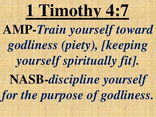 The Disciplined Life - NetBibleStudy.com