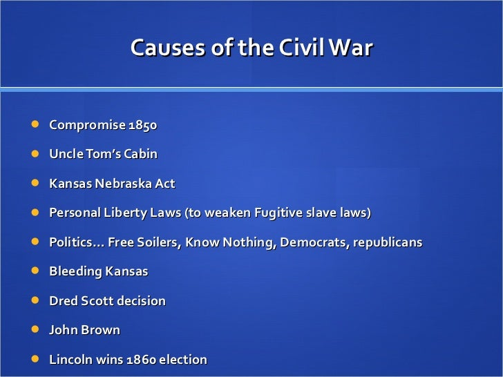 causes and the course of the us civil war essay In which john green actually teaches about the civil war in part one of our two part look at the us civil war, john looks into the causes of the war, and.