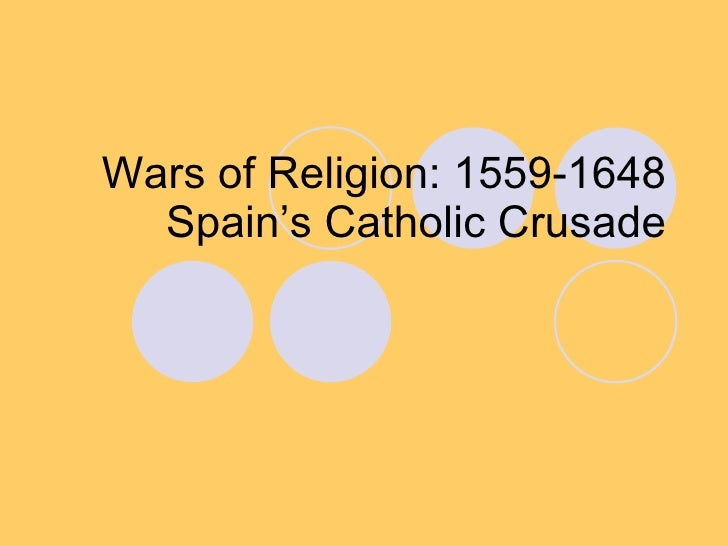 Wars Of Religion Spain Netherlands
