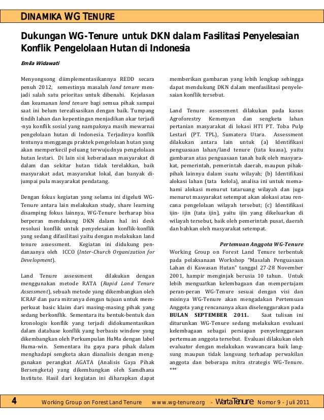 Warta tenure edisi 9