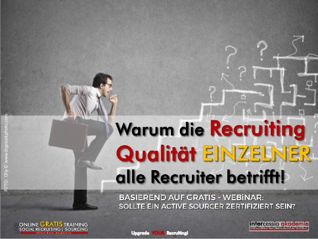 Upgrade YOUR Recruiting! FOTO:Olly©www.bigstockphoto.com