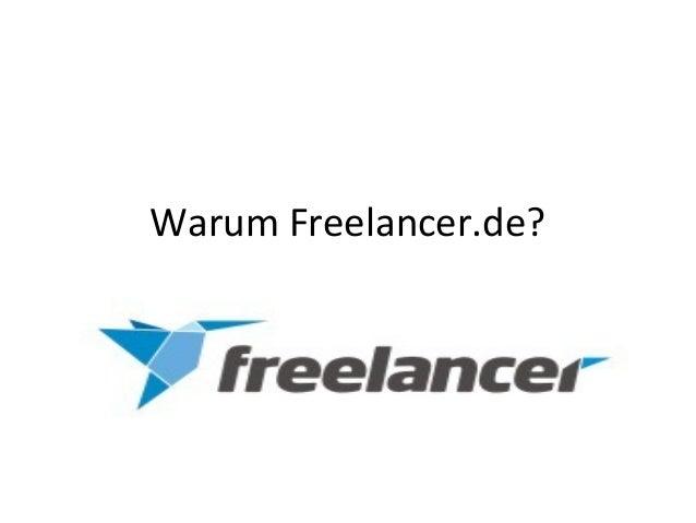 Warum Freelancer.de?
