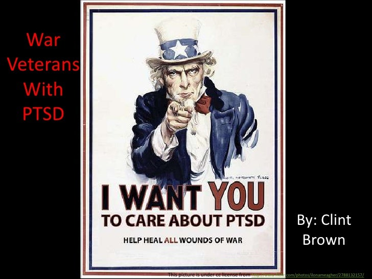 War Veterans With PTSD<br />By: Clint Brown<br />This picture is under cc license from http://www.flickr.com/photos/ilonam...