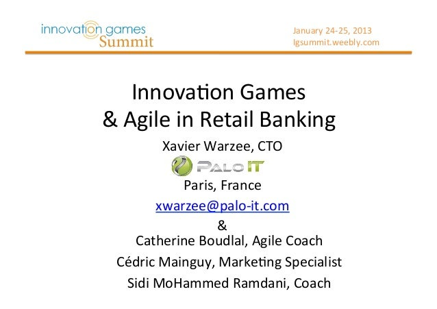 January 24-‐25, 2013                                       Igsummit.weebly.com       Innova>on Games  & A...