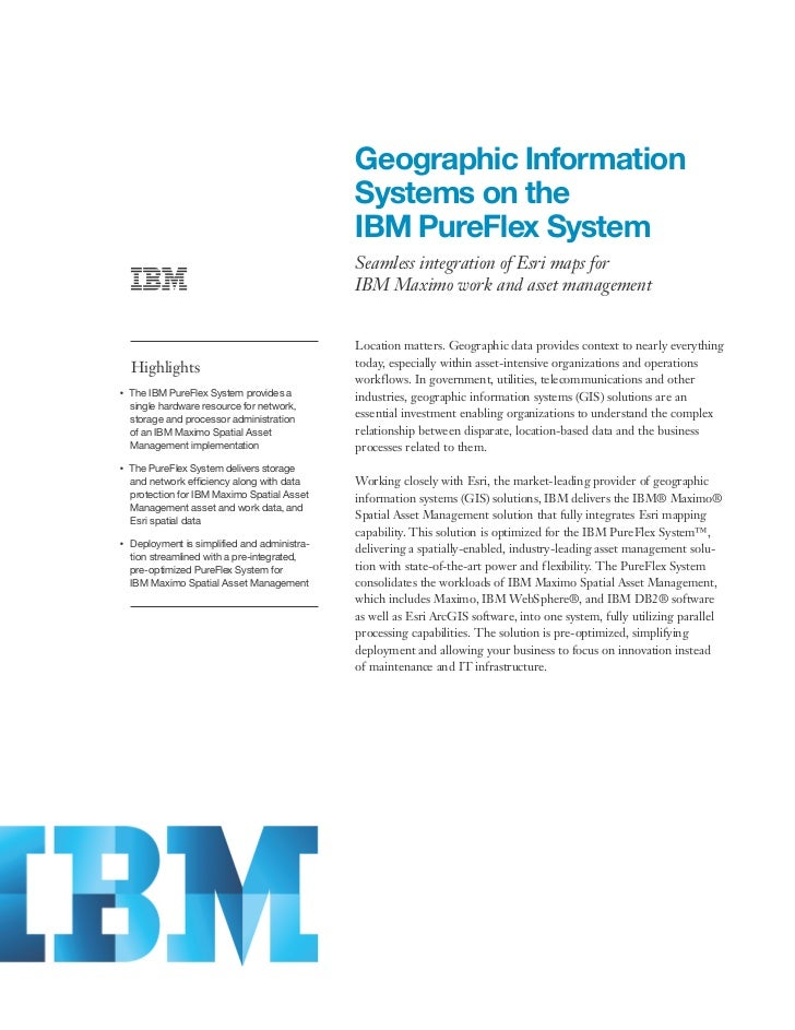 Geographic Information                                                    Systems on the                                  ...