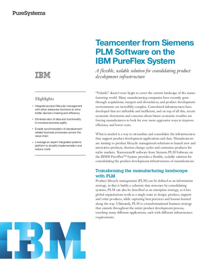Teamcenter from Siemens                                                     PLM Software on the                           ...